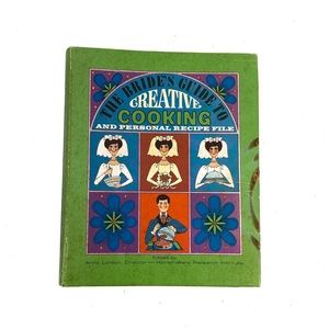 COOK BOOK,VTG The Brides Guide To Creative Cooking